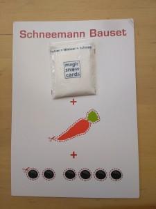 Schneemann-Bauset