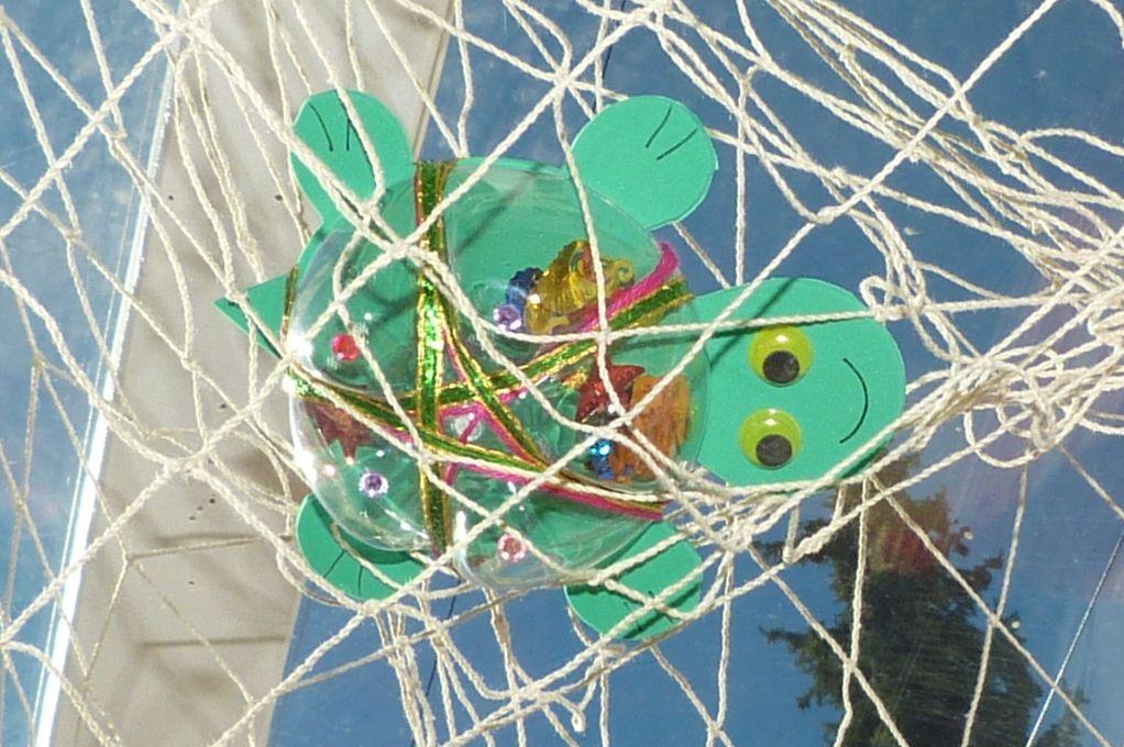 Dekorative Fischernetze