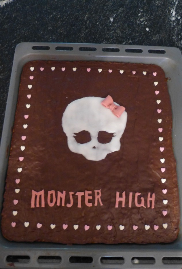 Monster-High-Kuchen