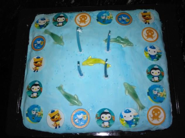 Oktonauten-Kuchen