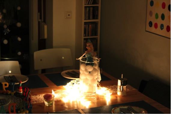 Dani's Eiskönigin-Party