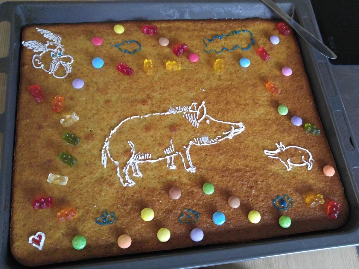 Asterix' & Obelix' Wildschwein-Kuchen