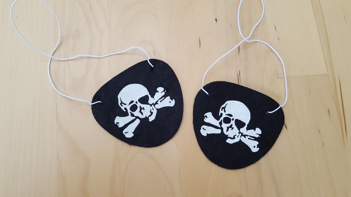 Piraten-Mitgebsel