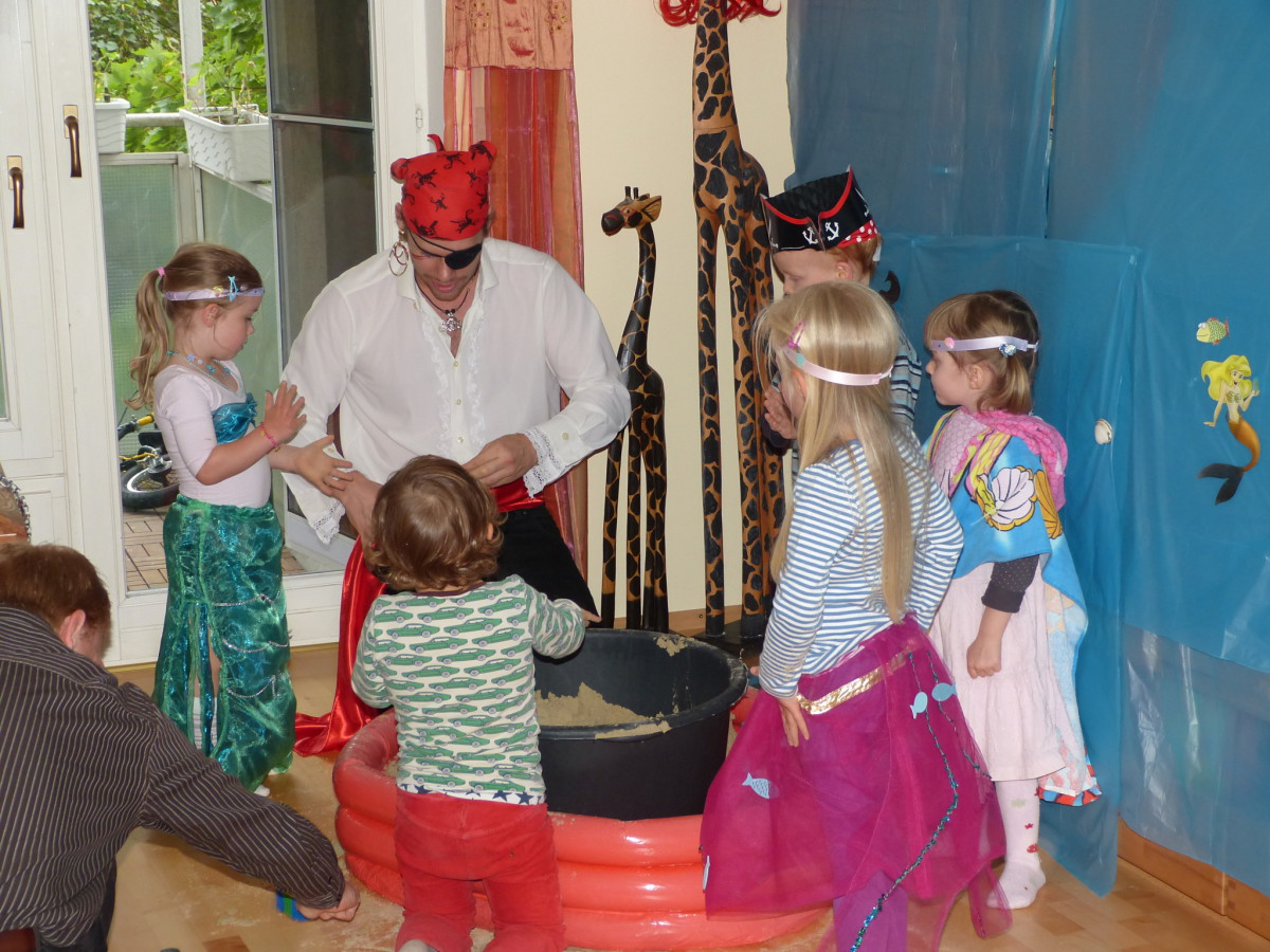 Meerjungfrauen- und Piraten-Party