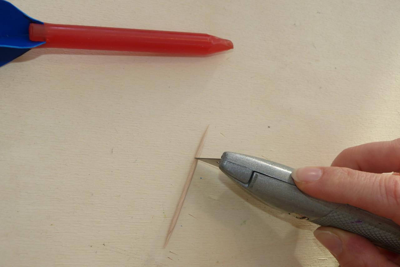 Dart-Pfeile einfach selbst bauen
