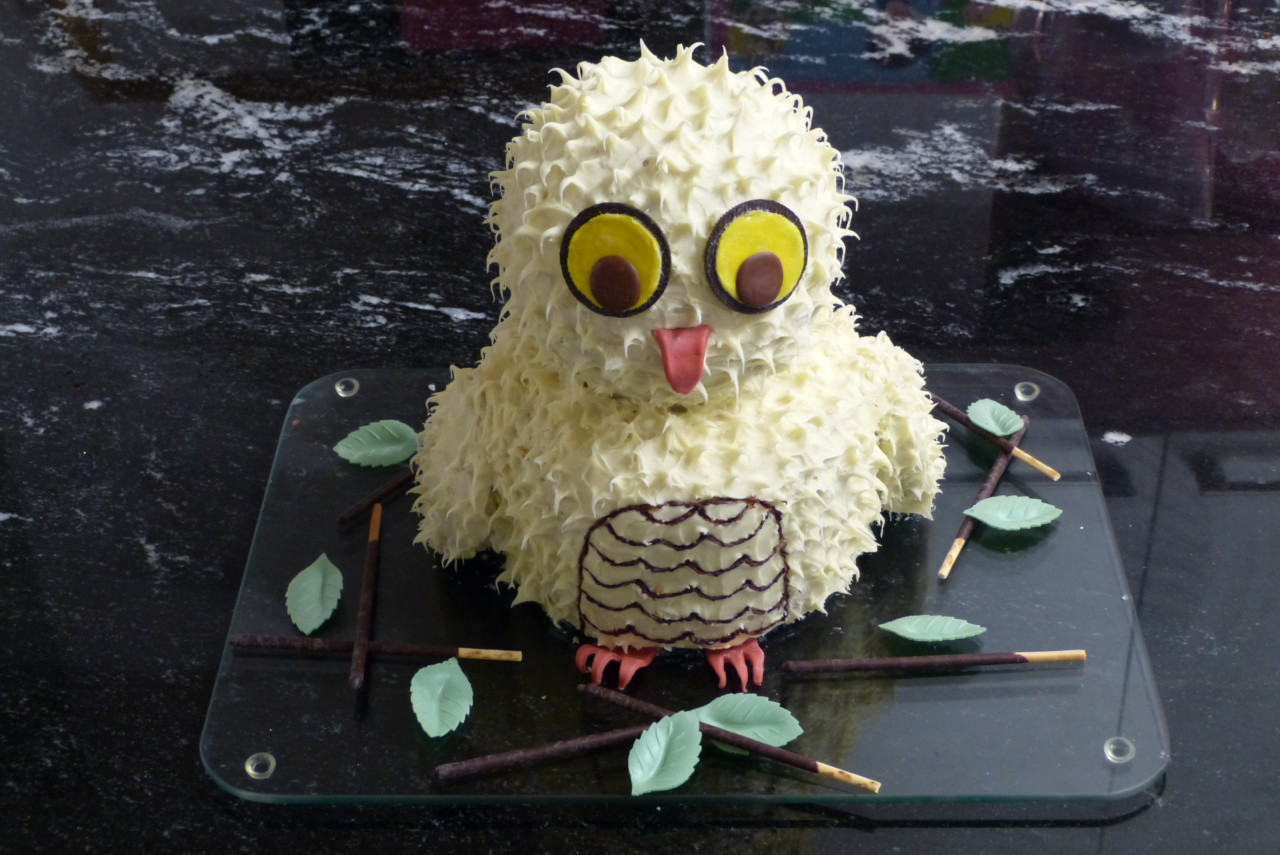 Harry Potter-Eulen-Kuchen