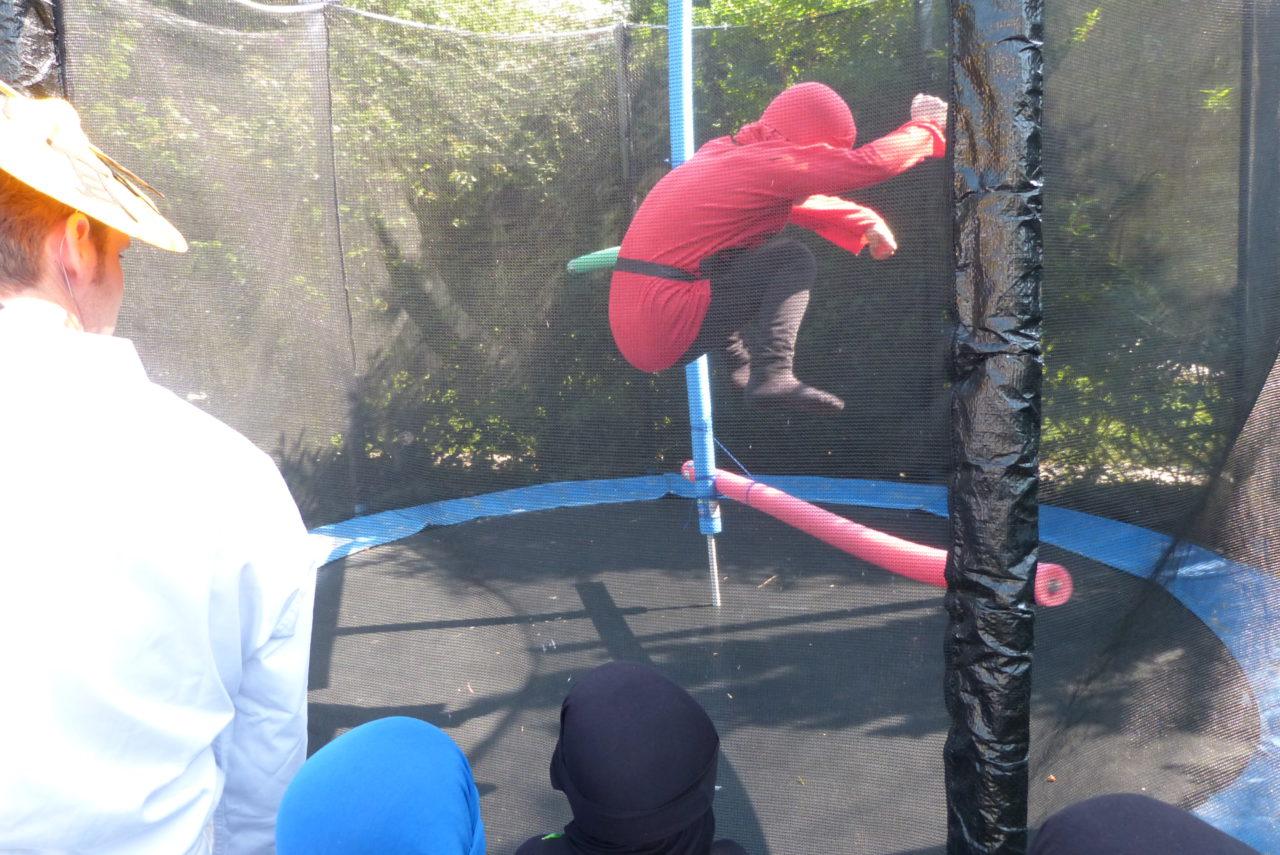 Ninja-Parcour