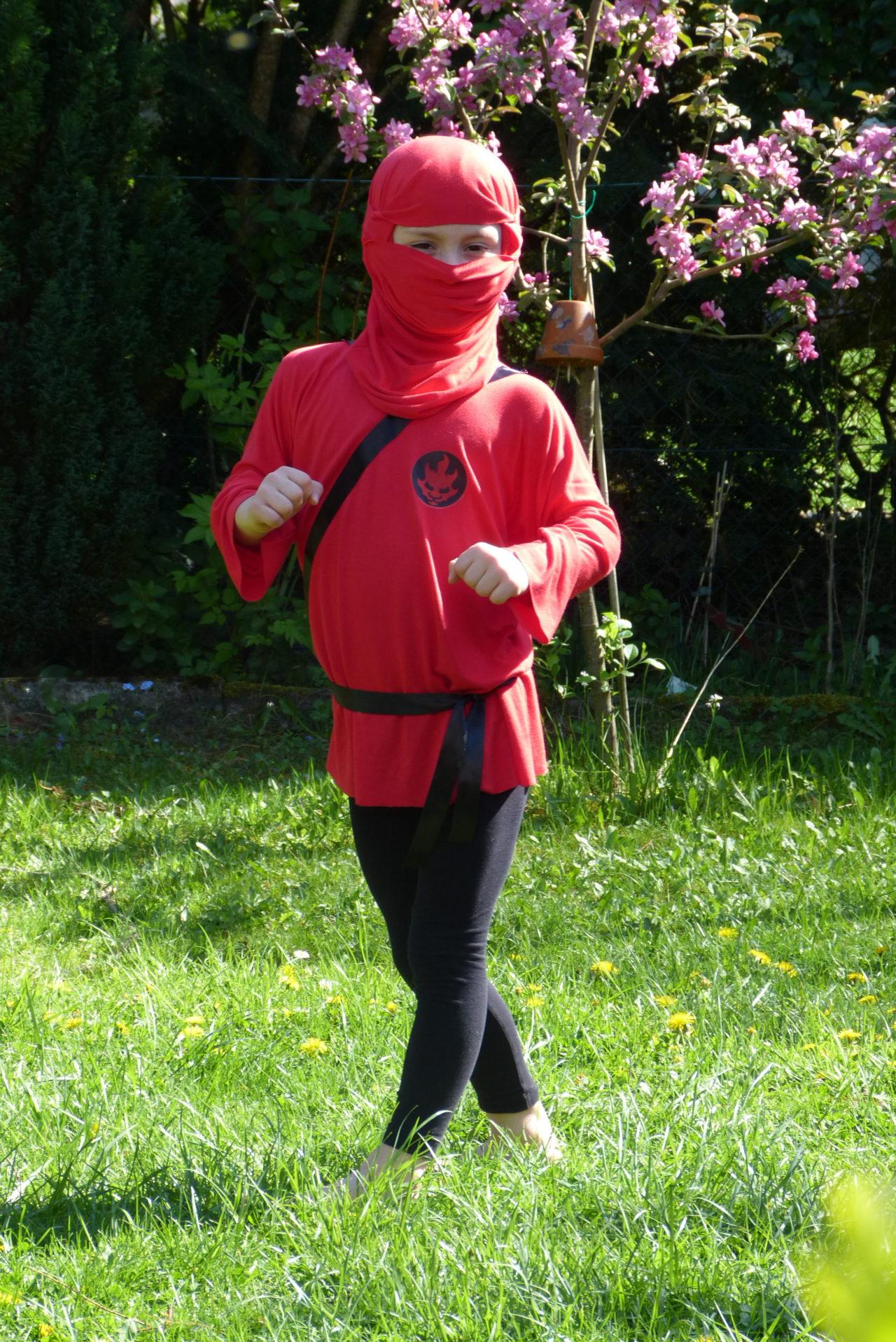 Ninja-Kostüm nähen