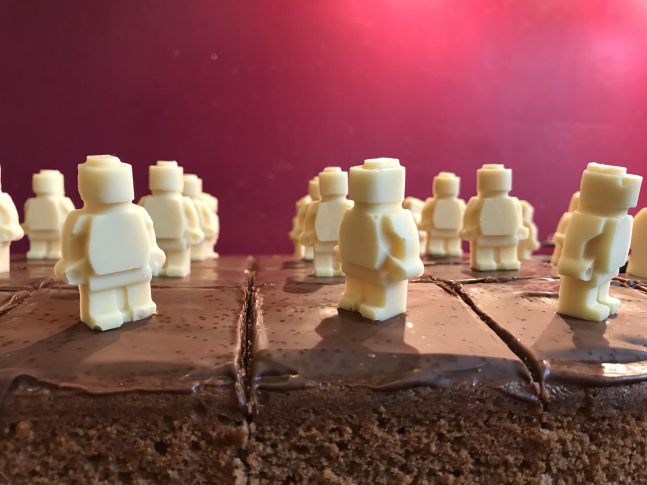 Lego-Männchen-Kuchen