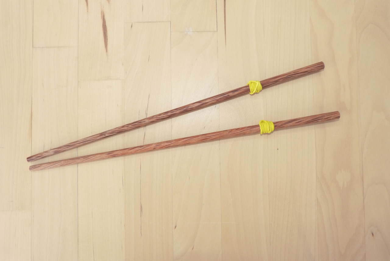 Stäbchen für Stäbchen-Lauf