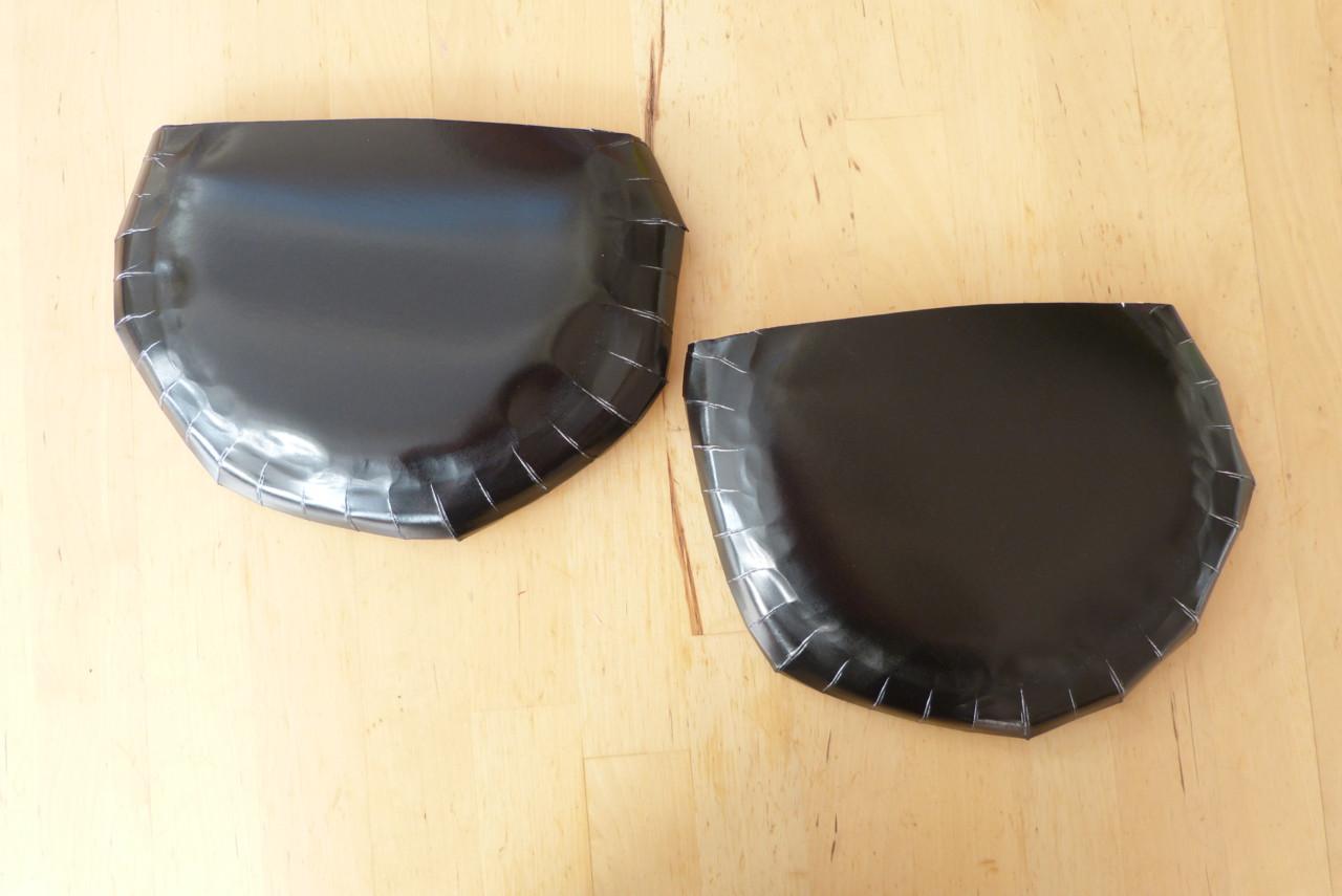 Fledermaus-Tasche aus Papptellern