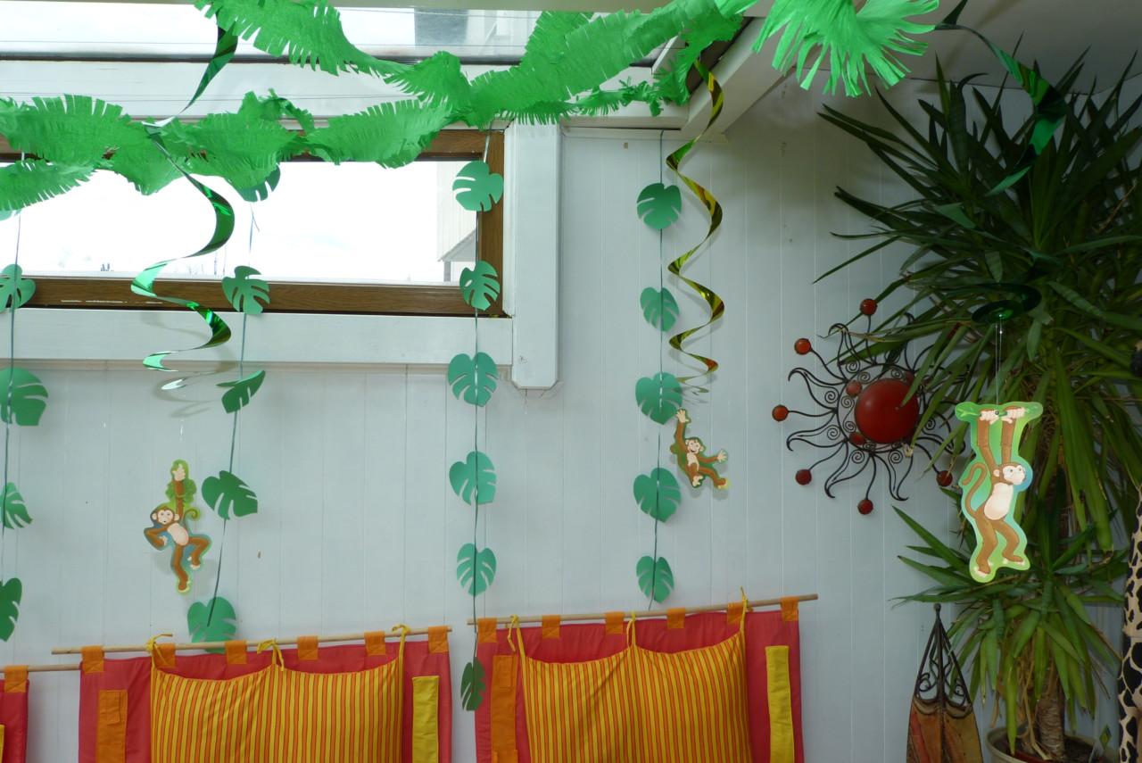 Dschungel-Party