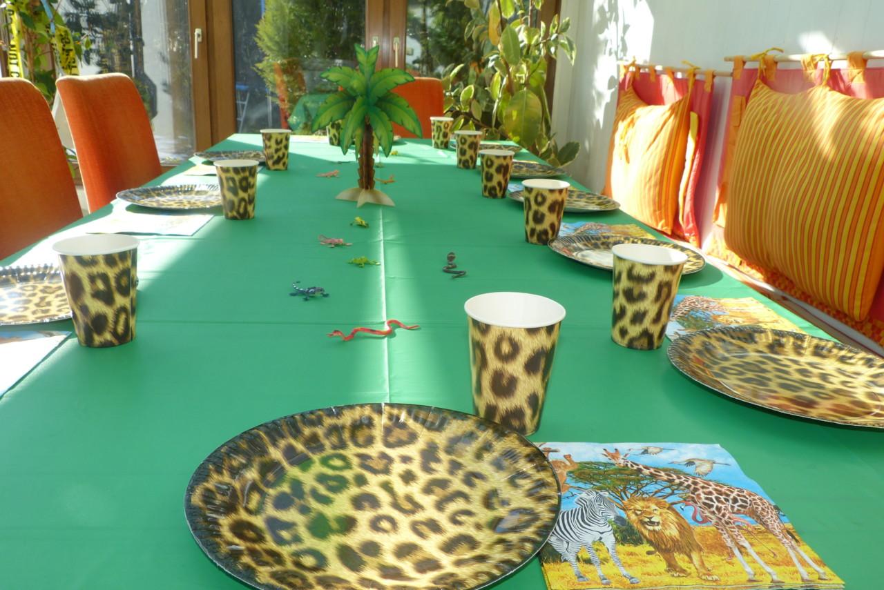 Dschungel-Deko-Set