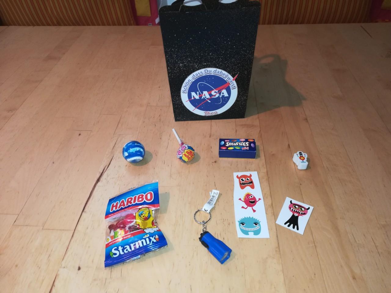 Astronauten-Party
