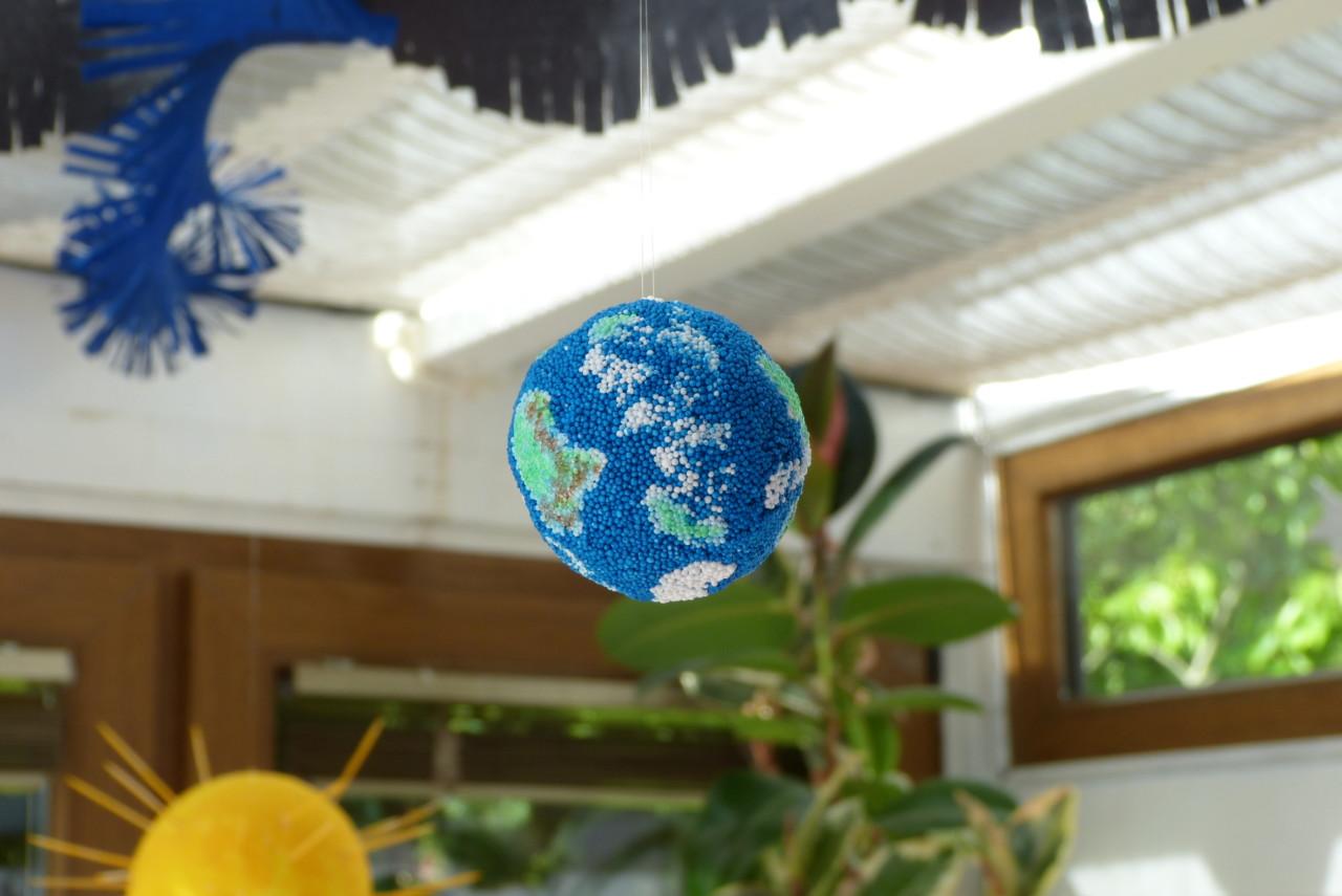 Planeten-Girlande