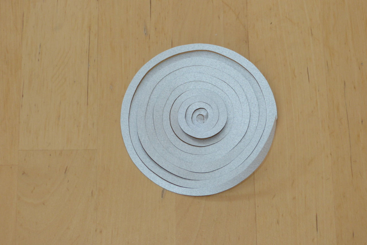 Stern-Spiral-Girlande