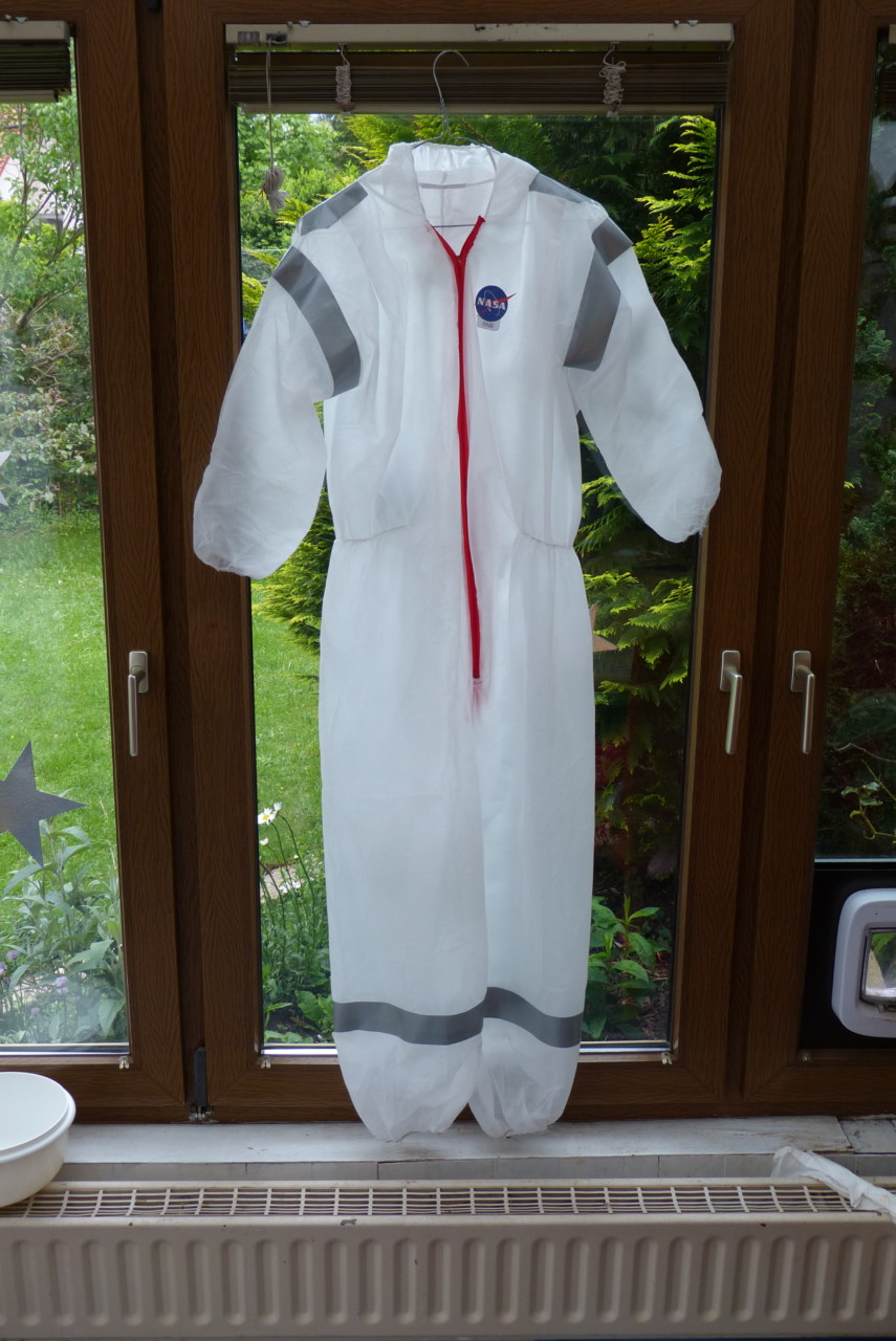 Astronauten-Kostüm DIY